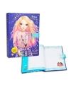 Topmodel dagboek met codeslot blauw