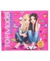 Topmodel roze vriendinnenboek met licht en geluid