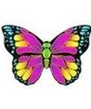 Vlinder vlieger roze 55 x 65 cm